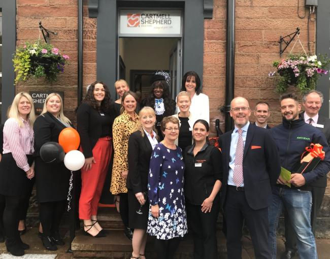 Cartmell Shepherd's revamped Brampton office official opening