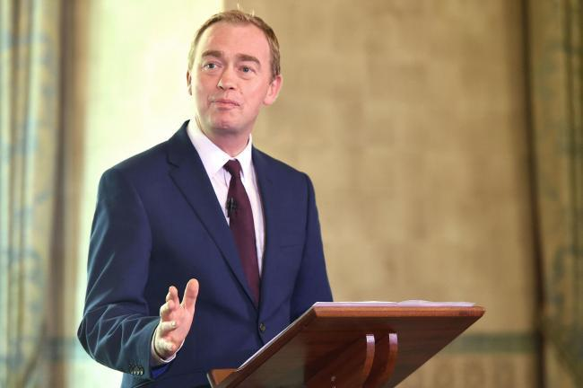 Tim Farron - see question one