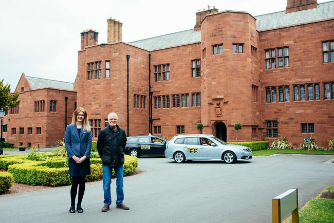 The Abbey House Hotel and Gardens, in Barrow, provides contractors with shared taxis to and from their place of work in a bid to reduce local road miles.