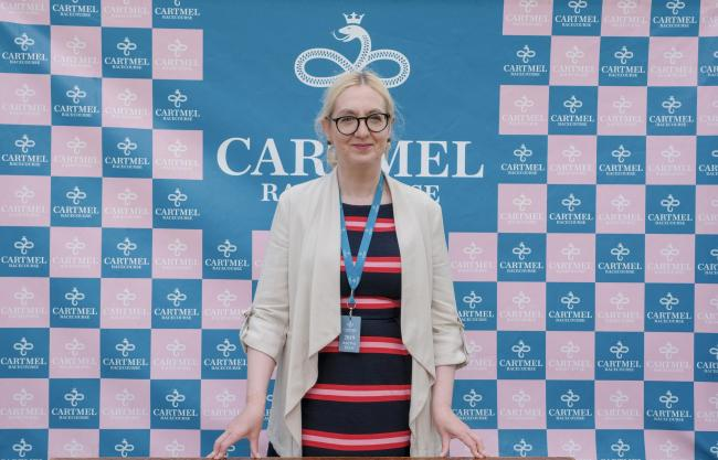 Geraldine McKay, new manager at Cartmel Racecourse Milton Haworth2019