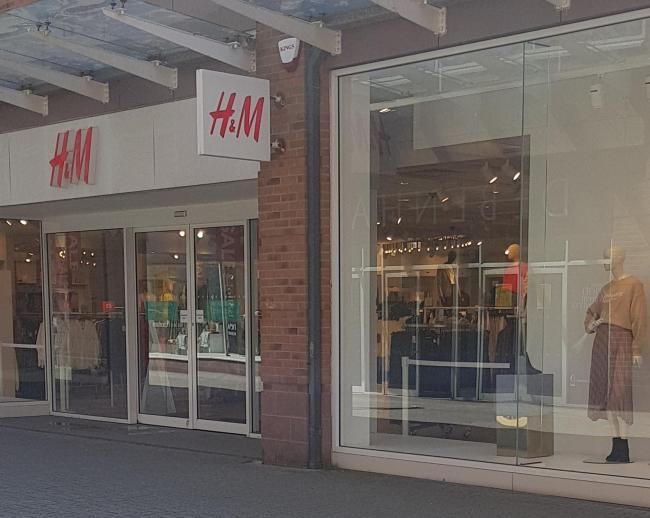 n H&M has revealed that it will close its Risman Place shop in Workington on September 15