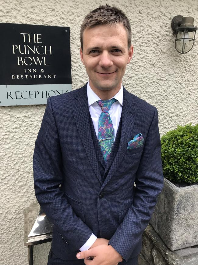 Claudiu Onofrei has joined the Punch Bowl, in Crosthwaite, as general manager from the Gilpin Hotel in Windermere.
