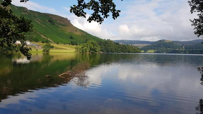 Top: Cumbria has been named the top holiday let hotspot of England