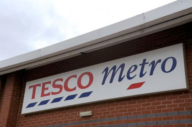 FEARS: Employees were concerned that jobs were at risk at the Tesco Metro in Flass Lane