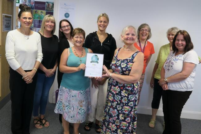 Home Instead Senior Care celebrates winning regional award