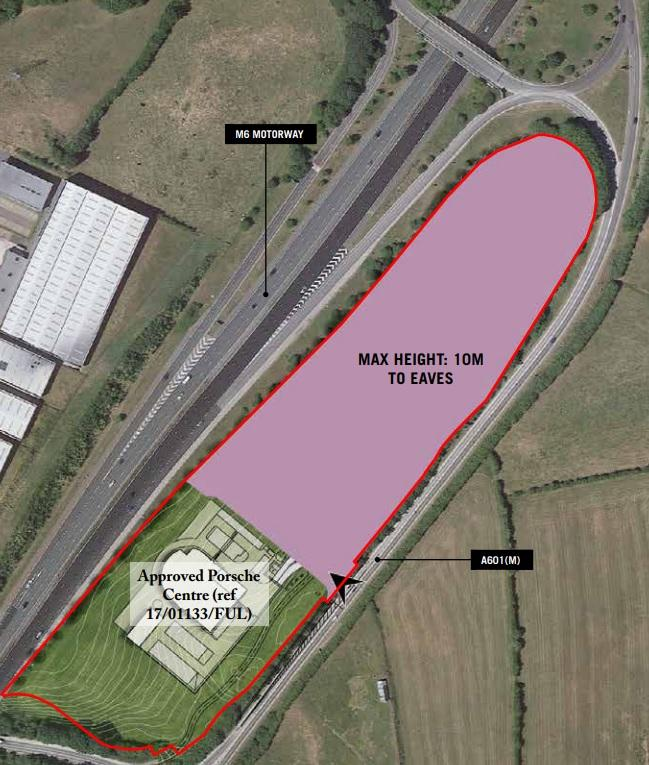Plans for the site near Carnforth (Picture: Lancaster City Council planning portal)