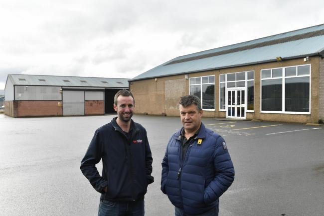 Myers Lane Business Park: Developers Jonathan Willan and  James Lund, of Willan and Lund Holdings