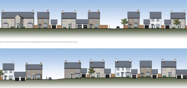 New homes proposed for land south of Haggs Lane, Cartmel (Picture: SLDC planning portal)