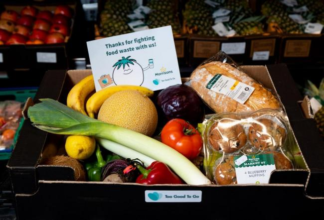 MORRISONS; The food boxes will contain fruit and veg, bakery and deli items             Picture: Morrisons