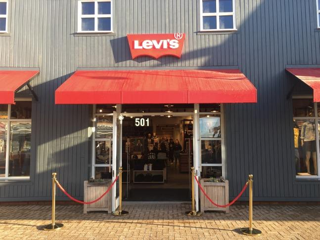 STORE: Fashion retailler Levi's has opened a new store along with Adidas at Caledonia Park, formerly known as Gretna Gateway              Picture: Gretna Gateway Facebook page