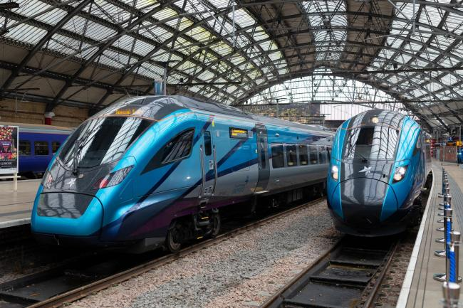TRAINS: TransPennine Express has unveiled its new £500m fleet of Nova trains which will serve routes between Carlisle and Edinburgh, Glasgow and Manchester          Picture: TransPennine Express