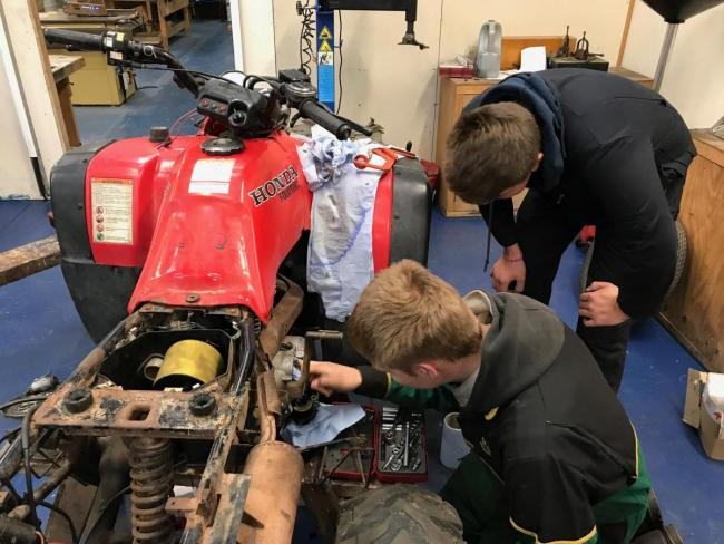 Engineers at Appleby Training and Heritage Centre