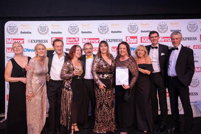 ACCOLADE: Heart of the Lakes wins silver at British Travel Awards