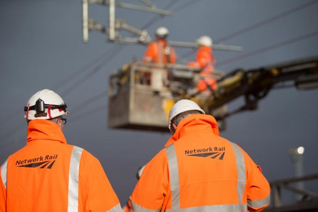 Network Rail will be carrying out work over Christmas and New Year