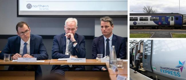 TRANSPORT: A meeting was held to discuss issues with Northern Rail and TransPennine Express in Leeds on Wednesday, January 8            Pictures: PA/Stuart Walker/TPE