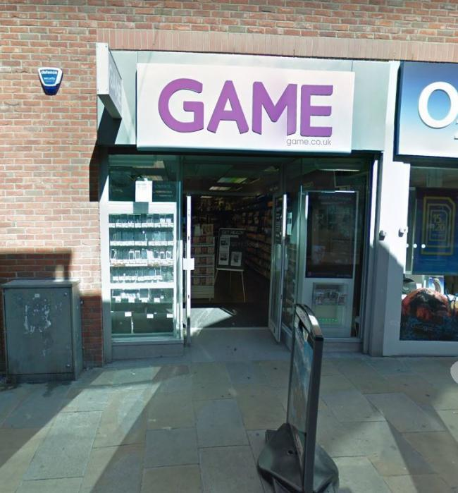 The Game store in Portland Walk, Barrow