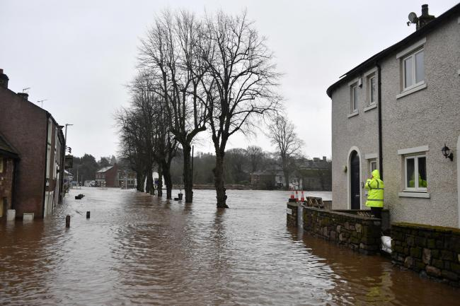 Storm: Floodwater in Appleby