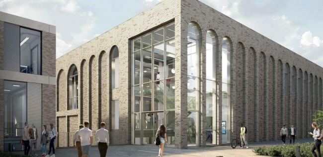 Investment: An image of the new £17m engineering centre