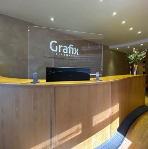 Grafix Signs has been creating perspex screens