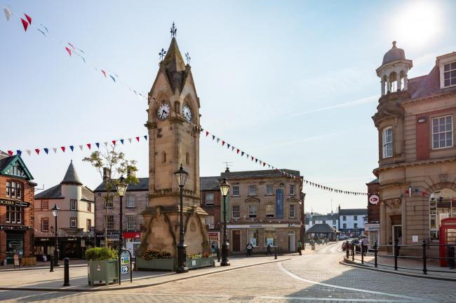 Penrith town centre (Cumbria Tourism)