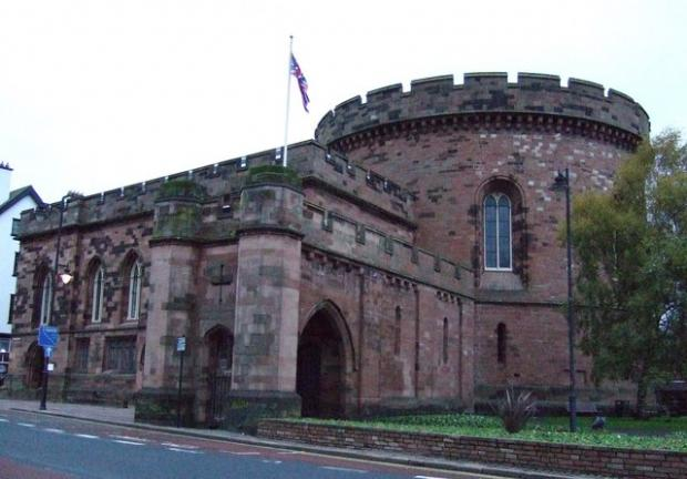 In Cumbria: The Citadel, Carlisle