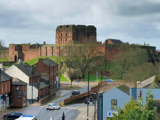 In Cumbria: Carlisle Castle