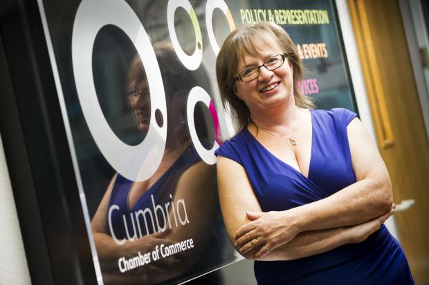 In Cumbria: MANAGING DIRECTOR: Suzanne Caldwell, of Cumbria Chamber of Commerce