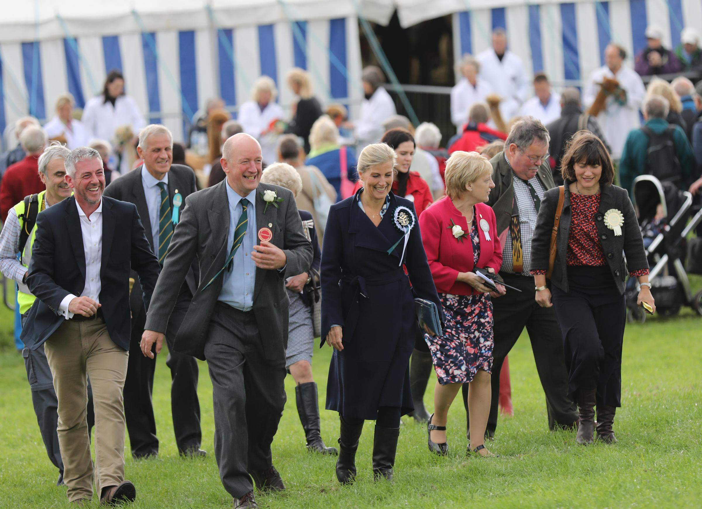 HRH The Countess of Wessex tours Westmorland County Show