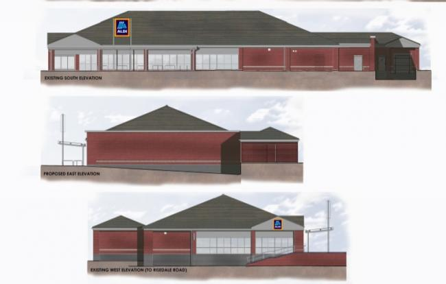 EXPANSION plans for Aldi in Barrow