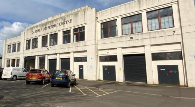 NEW PLANS: The Carlisle Enterprise Centre could be given a new lease of life under this development
