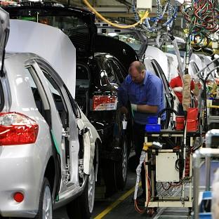 A drop in car production hit the UK's GDP growth
