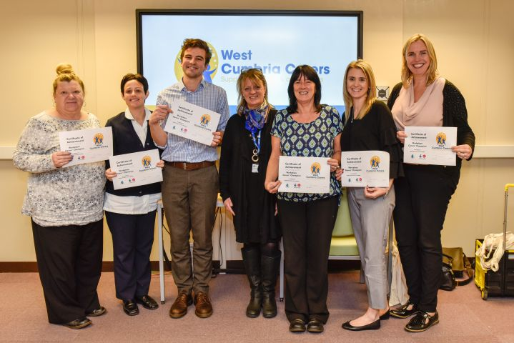Carers champions appointed at Sellafield