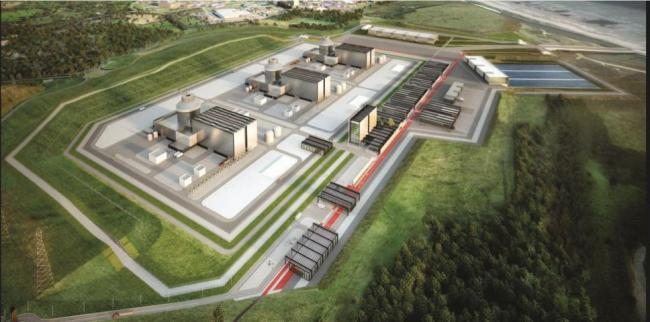 This is what the Moorside nuclear power plant will look like