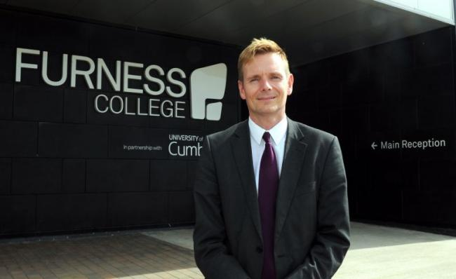 Andrew Wren, principal and chief executive of Furness College