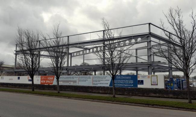 New 5m Carlisle Food Hall And Business Units Start To Take
