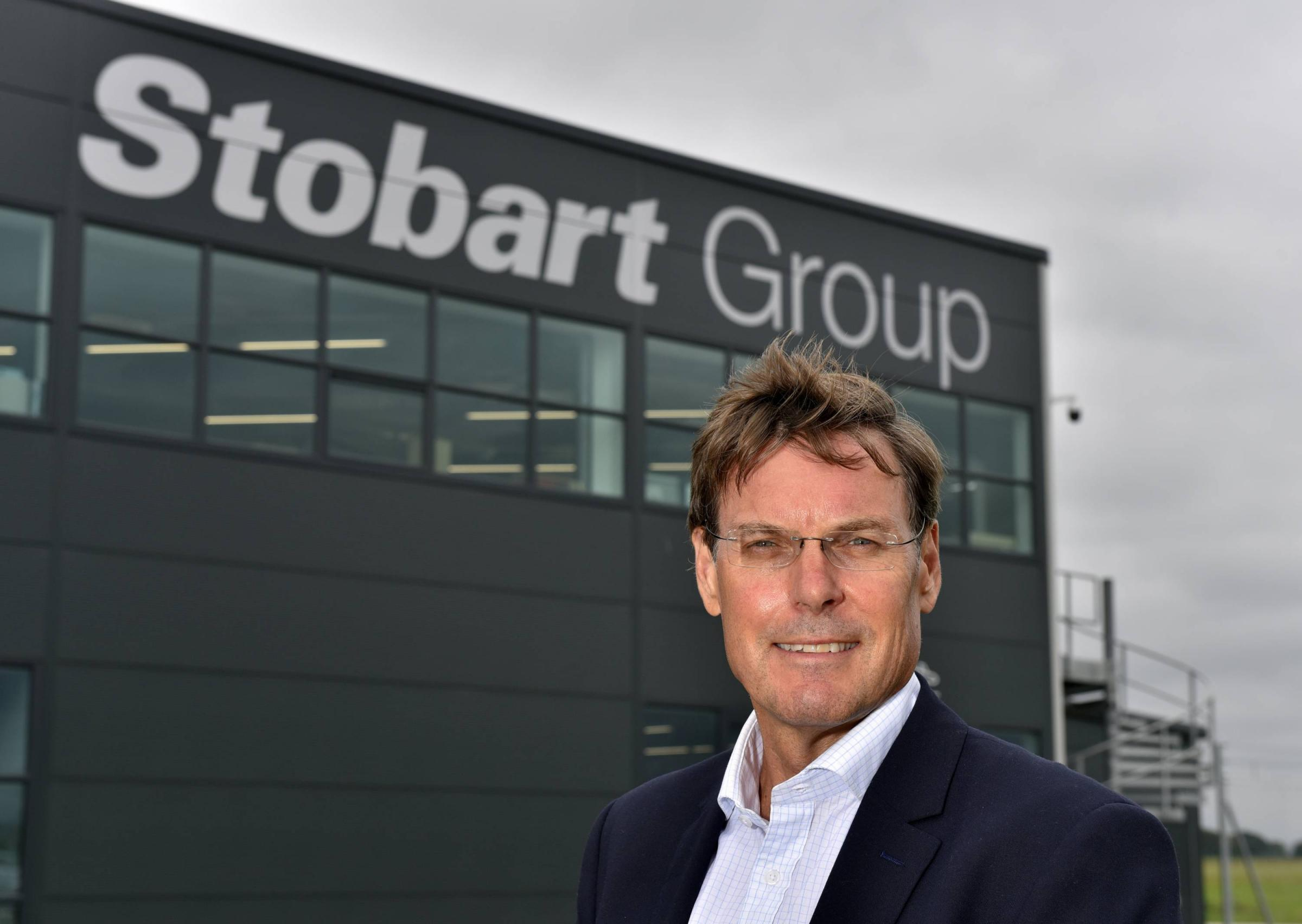Warwick Brady Group Chief Executive Officer of Stobart Group pictured at the companies offices at Carlisle Lake District Airport: 6 August 2018..STUART WALKER.