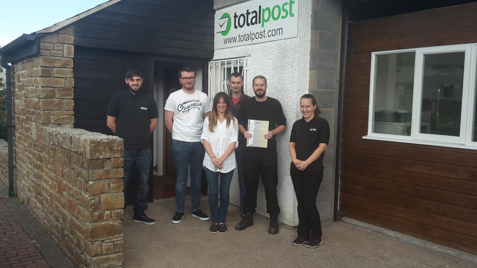 Totalpost staff