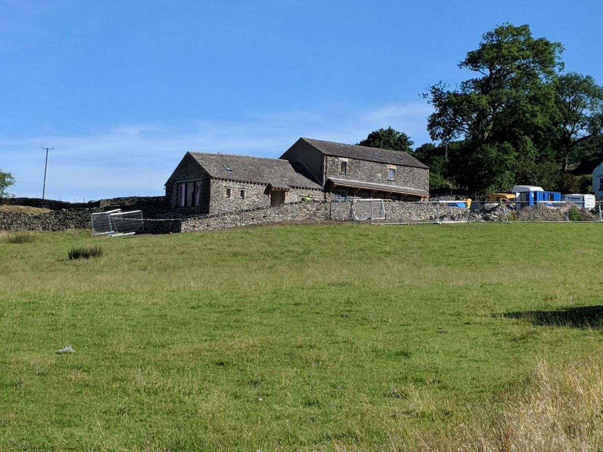 Addington Fund's conversion of two barns at High Cartmel for farming families