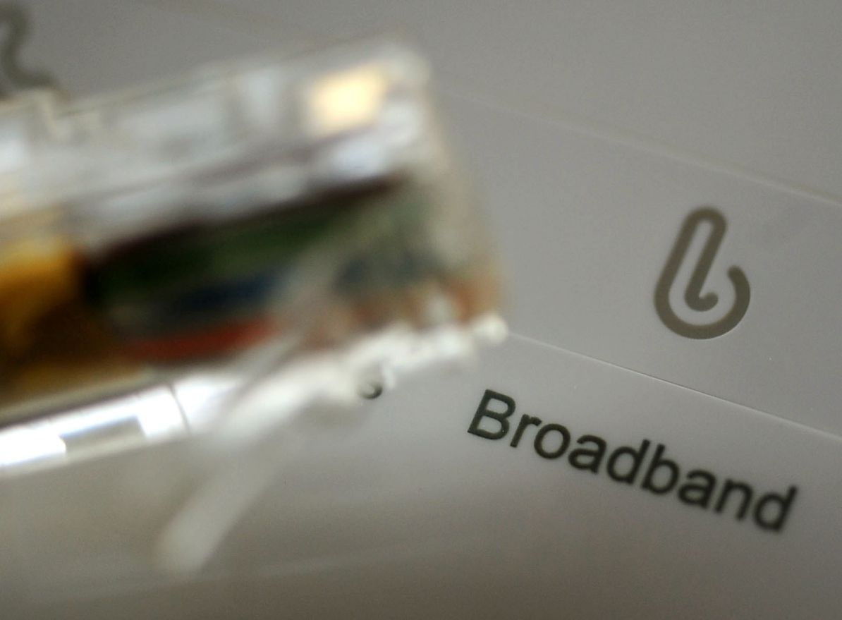 Calls for action over poor broadband coverage in rural areas
