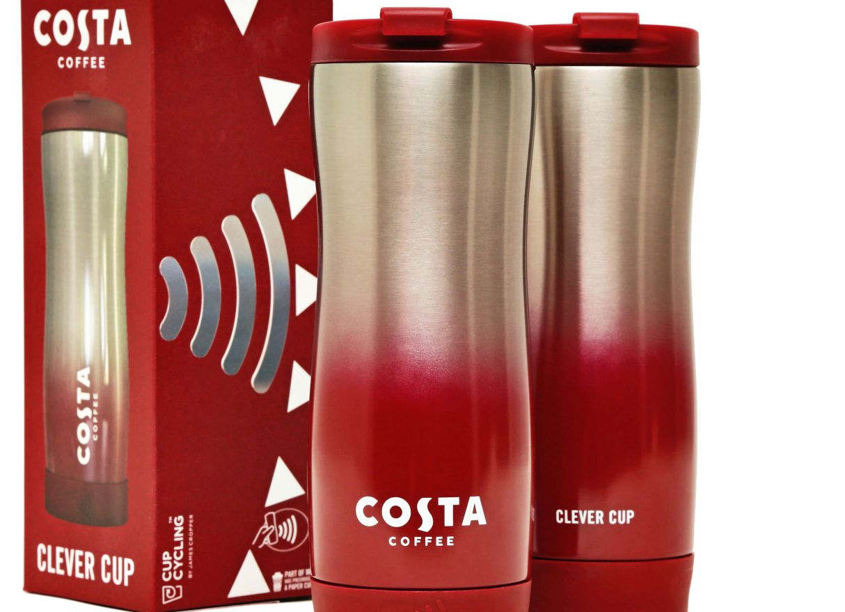 Costa and James Cropper launch first reusable coffee cup