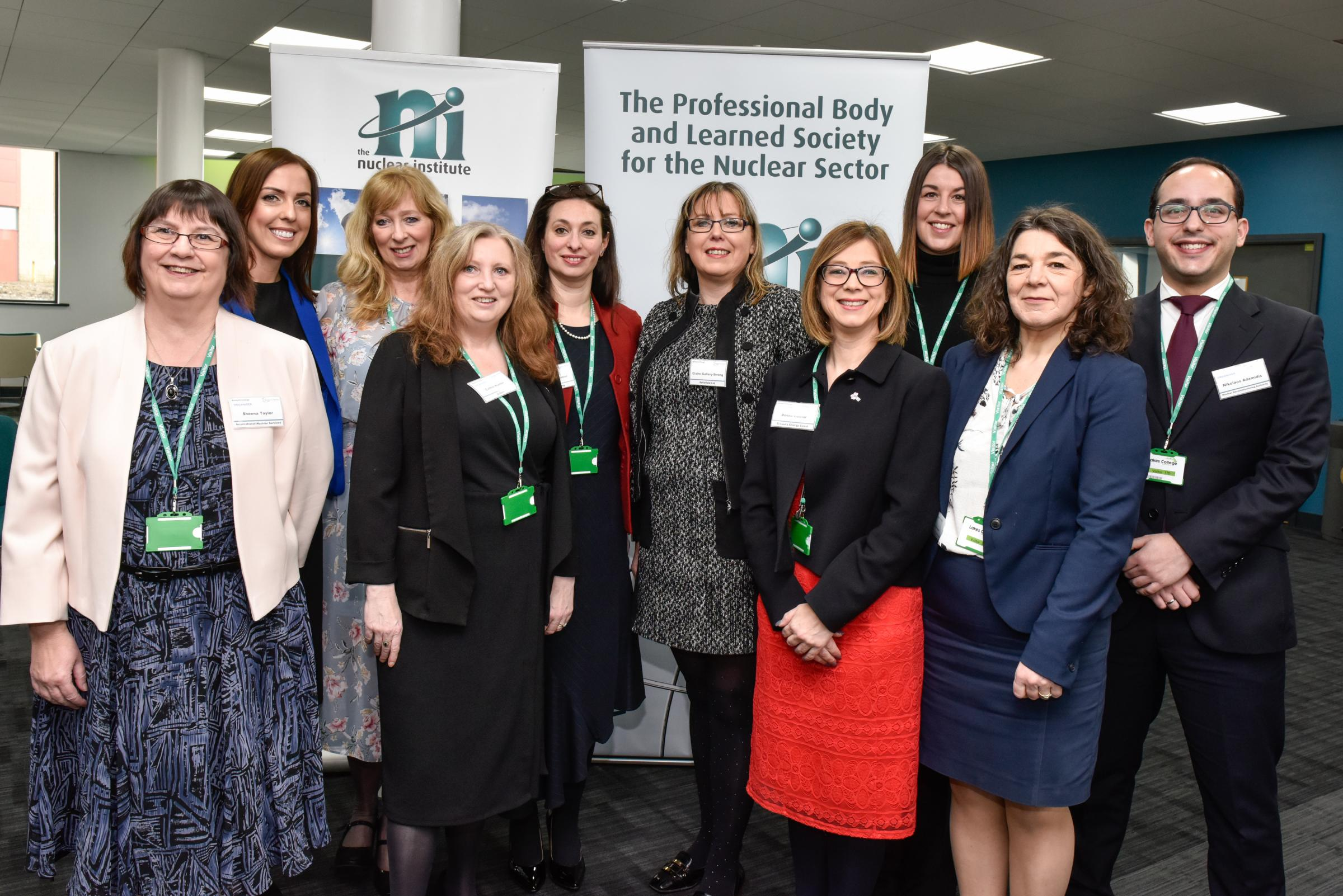 SHORTLISTED: The Women in Nuclear Cumbria team