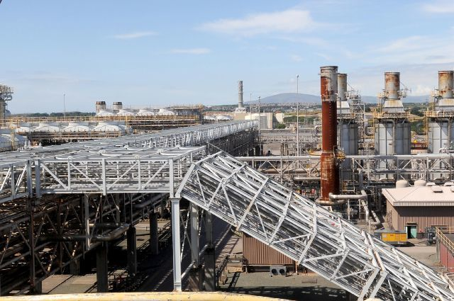 POWER: Centrica's gas terminals in Barrow