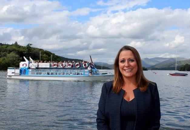 Jennifer Cormack joins UK Inbound Board of Directors Picture:Windermere Lake Cruises