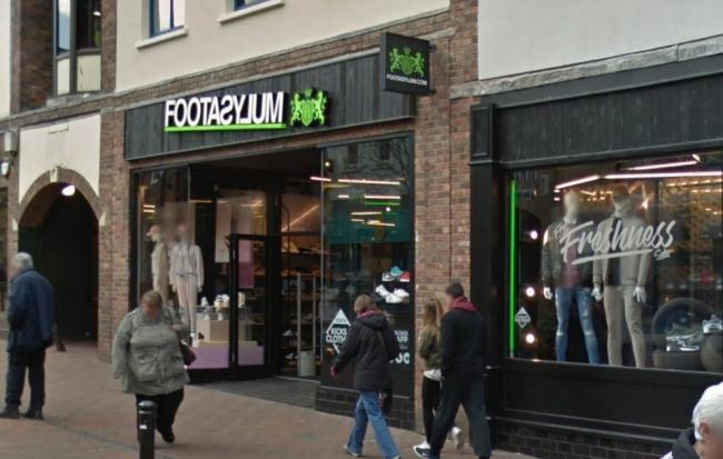 The Footasylum store in Scotch Street, Carlisle (Picture: Google)