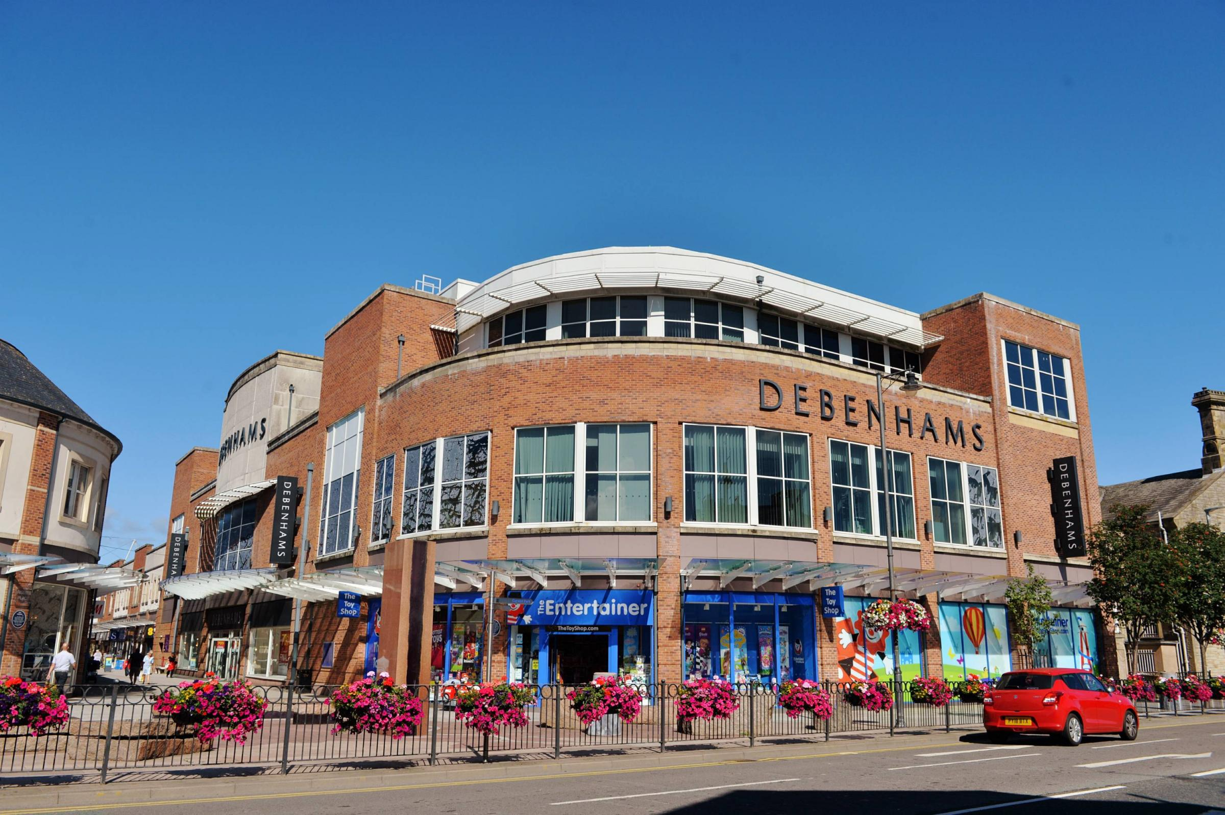 Debenhams in Workington