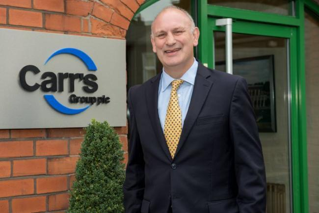 Carr's Group chief executive Tim Davies