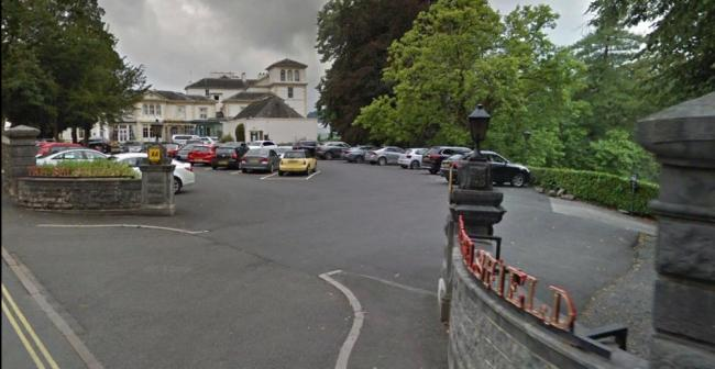 The Car Park Of The Belsfield Hotel