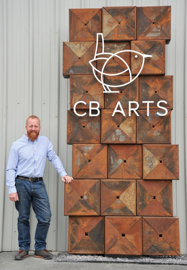 CELEBRATION: Chris Brammall of CB Arts.