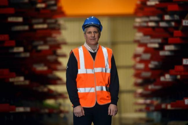 Thomas Graham Steel Stockholders and Industrial Supplies, Carlisle. Managing Director Roger Smith: 20 March 2018..STUART WALKER...