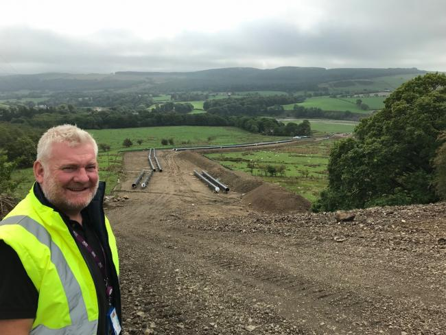 STAR: United Utilities' Cumbria project director John Hilton will appear in a new documentary on 5Spike called Sewermen